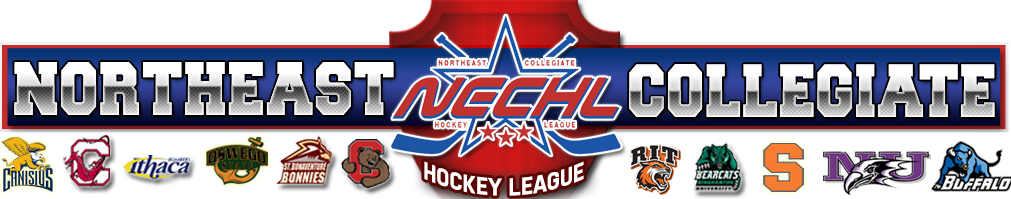 Northeast Collegiate Hockey League Powered by Goalline Sports Administration Software